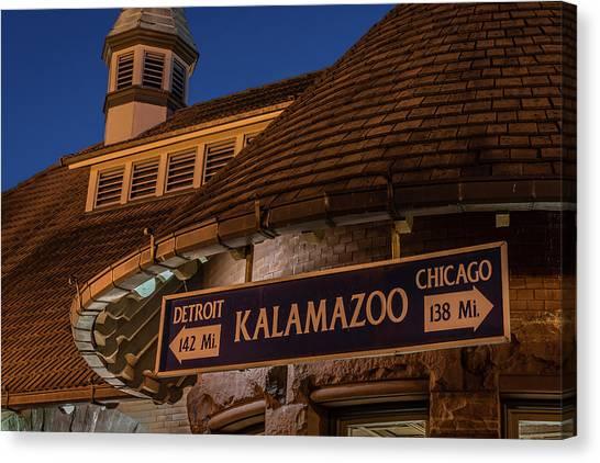 Kalamazoo Transportation Center Canvas Print