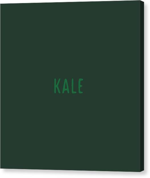 Kale Canvas Print