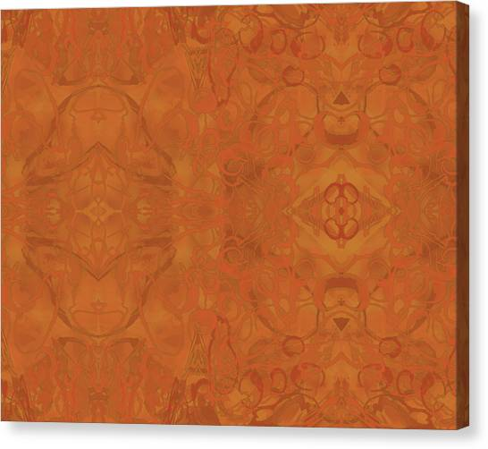 Kaleid Abstract Moroccan Canvas Print