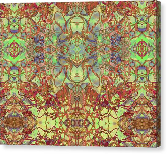 Kaleid Abstract Tapestry Canvas Print