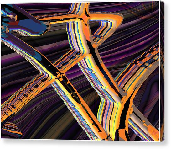 kaleido-Papillon Callg.10x11m23i Canvas Print by Terry Anderson