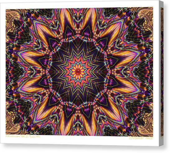 kaleido Perf10 9cAvi 44 Canvas Print by Terry Anderson