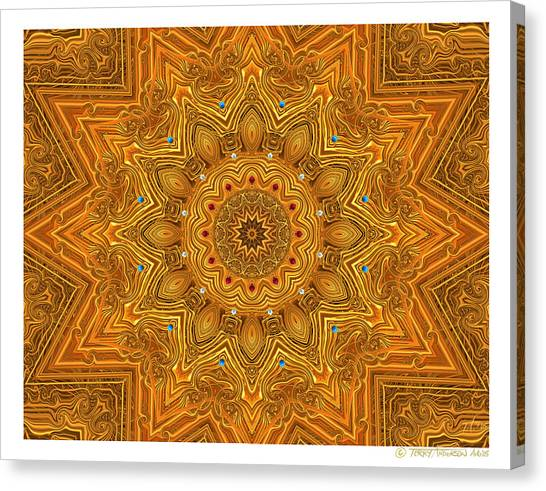 kaleido Prf10 X7x 17b Canvas Print by Terry Anderson