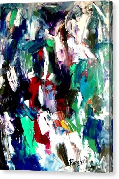 Kaleidoscope - Dream Of A Diverse Harmony Canvas Print by Fareeha Khawaja