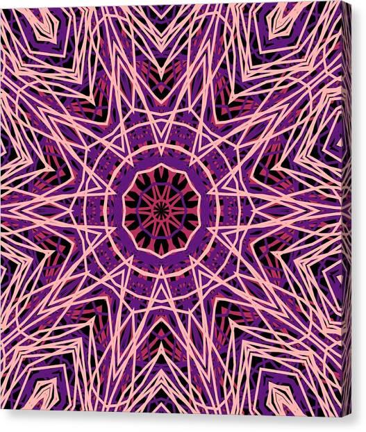 Kaleidoscope 147 Canvas Print