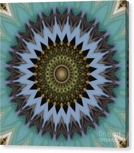 Repeat Canvas Print - Kaleidoscope O Eleven by Paul Gillard