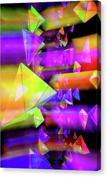 Pic Canvas Print - Kaleidoscopic Mind by Az Jackson