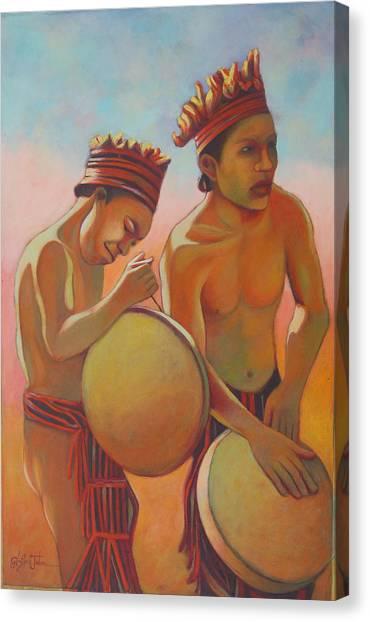 Kalinago Rhythm Canvas Print