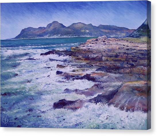 Kalk Bay And Fish Hoek  Cape Town South Africa 2006  Canvas Print by Enver Larney