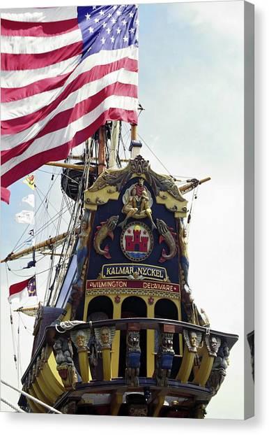 Kalmar Nyckel Tall Ship Canvas Print