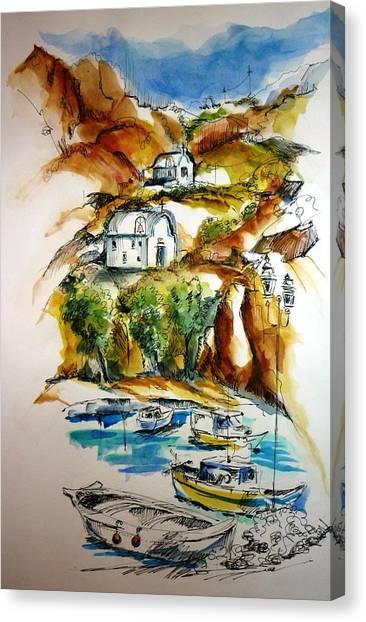 Kalymnos Canvas Print