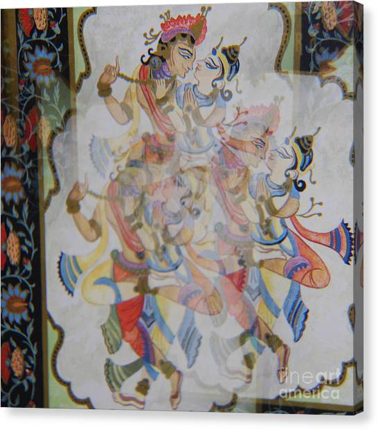 Kama Sutra Thrice Canvas Print by Sean-Michael Gettys