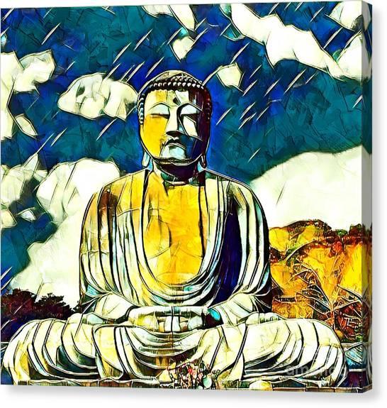 Kamakura Daibutsu Canvas Print
