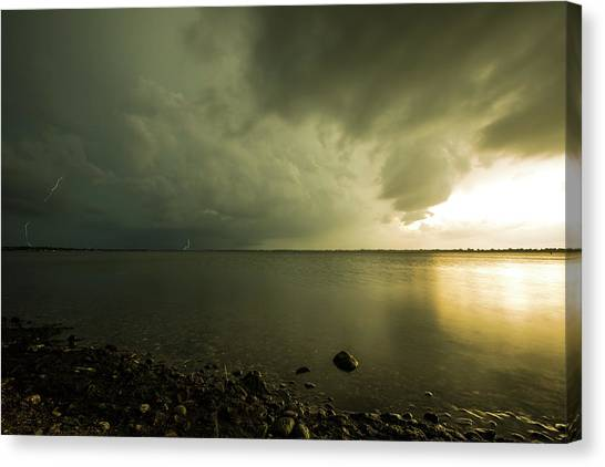 Tornadoes Canvas Print - Kampeska Rotation by Aaron J Groen