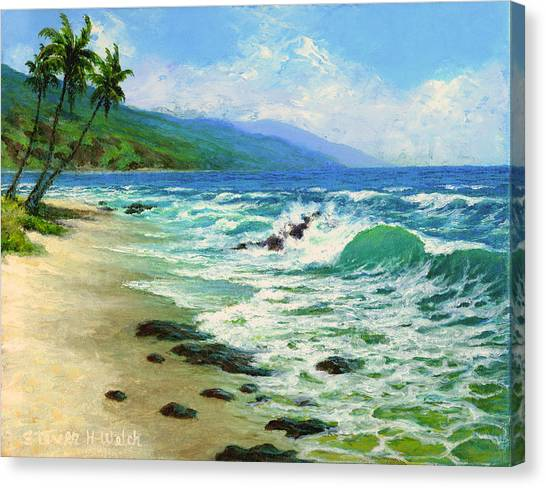 Kanaha Beach Canvas Print by Steven Welch