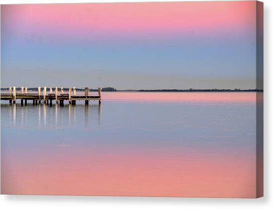 Kanahooka Pier Canvas Print by RDN Photography