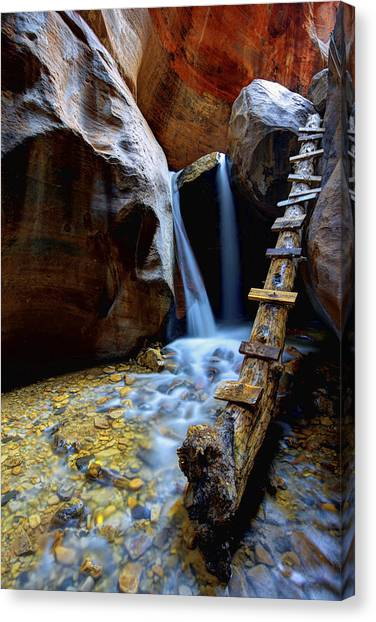 Utah Canvas Print - Kanarra by Chad Dutson