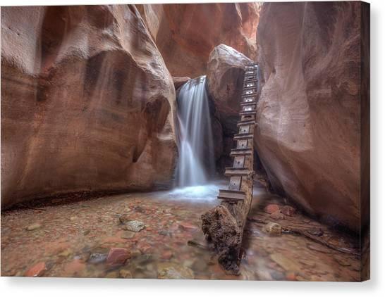 Kanarra Creek Falls Canvas Print