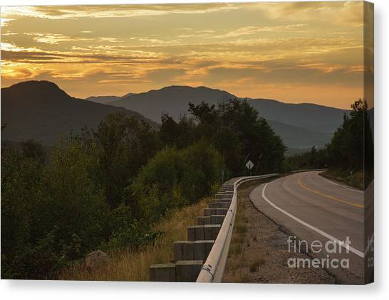 Canvas Print featuring the photograph Kancamagus Highway - New Hampshire Usa by Erin Paul Donovan
