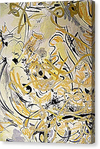 Kandinsky Echo Canvas Print