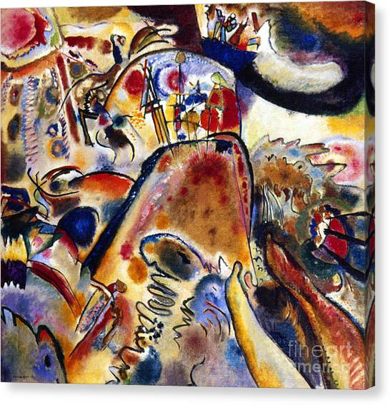 Aod Canvas Print - Kandinsky Small Pleasures by Granger
