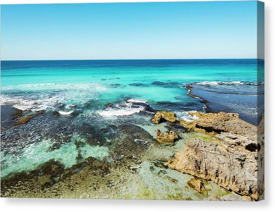 Pennington Bay Canvas Print - Kangaroo Island Beach by Catherine Reading