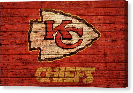 Kansas City Chiefs Canvas Prints Page 2 Of 7 Fine Art America