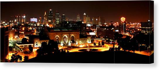 Kansas City Lights Canvas Print