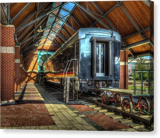 Harry Truman Canvas Print - Kansas City Southern by Ross Henton
