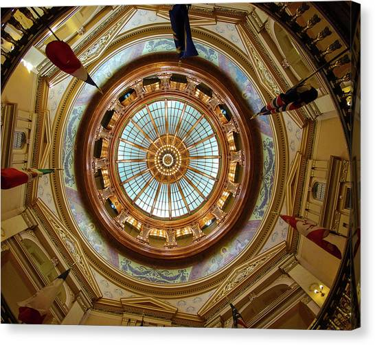 Kansas Dome Canvas Print