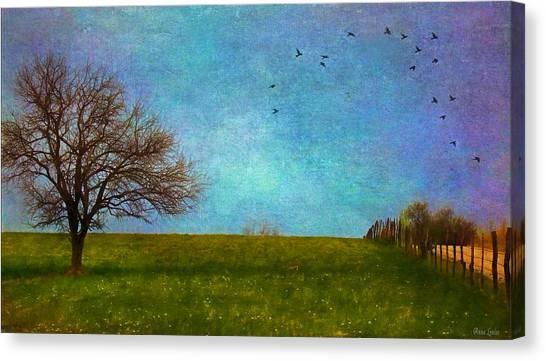 Kansas Early Spring Prairie Canvas Print