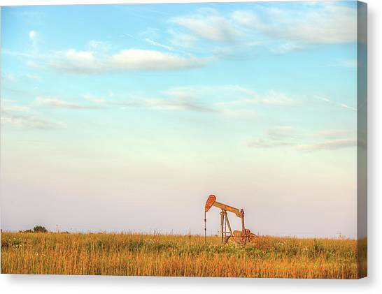 Kansas Energy  Canvas Print by JC Findley