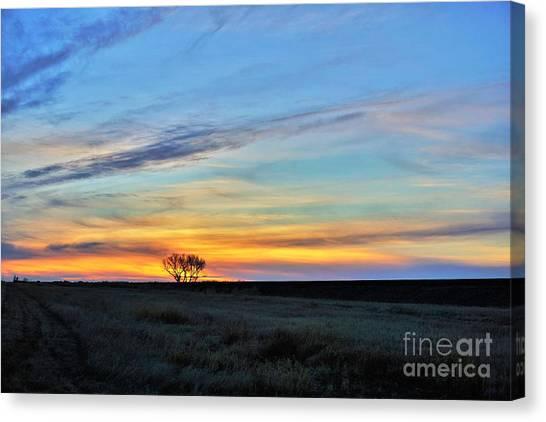 Kansas Sunrise1 Canvas Print