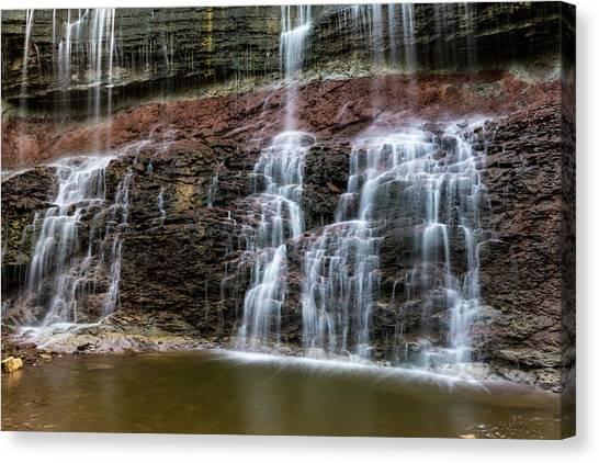 Kansas Waterfall 3 Canvas Print