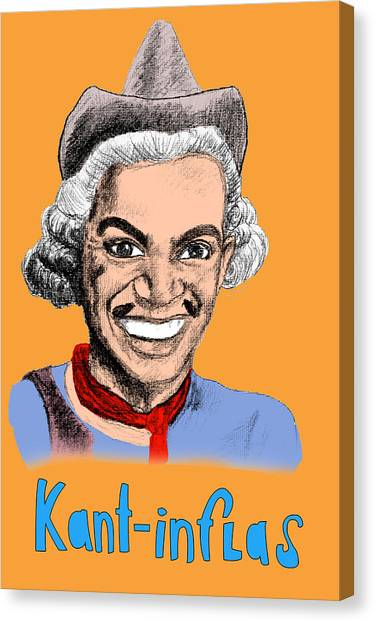 Fundamentalism Canvas Print - Kant-inflas by Jose Maria Carro Lopez
