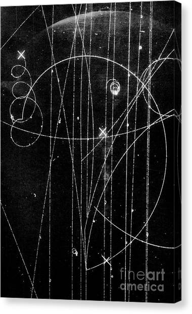 Kaon Proton Collision Canvas Print