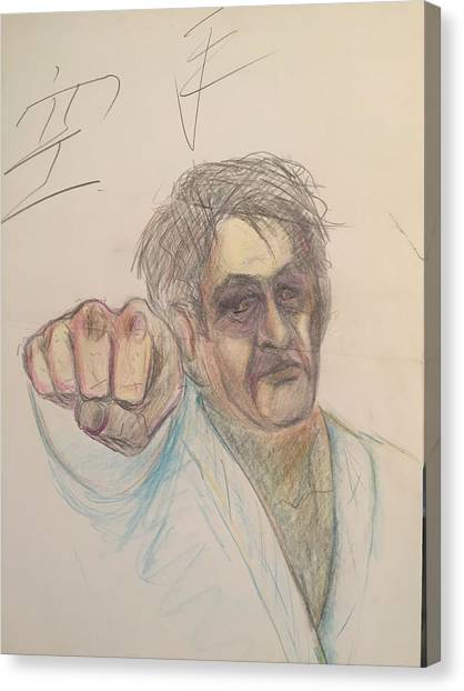 Jujitsu Canvas Print - The Calloused Fist  by Jerry Bridges