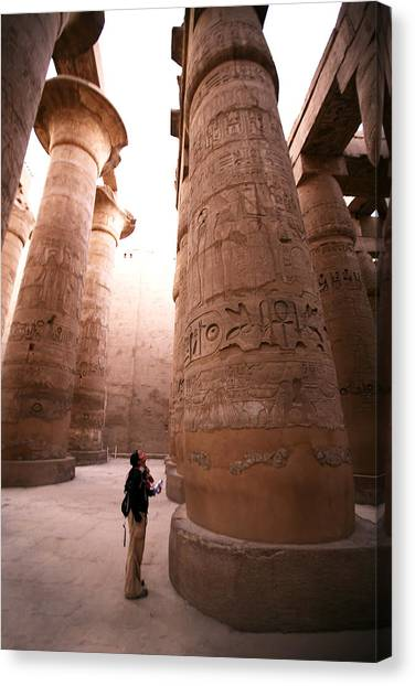Karnak Temple Canvas Print