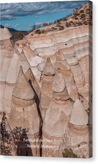 Kasha-katuwe Tent Rocks Canvas Print