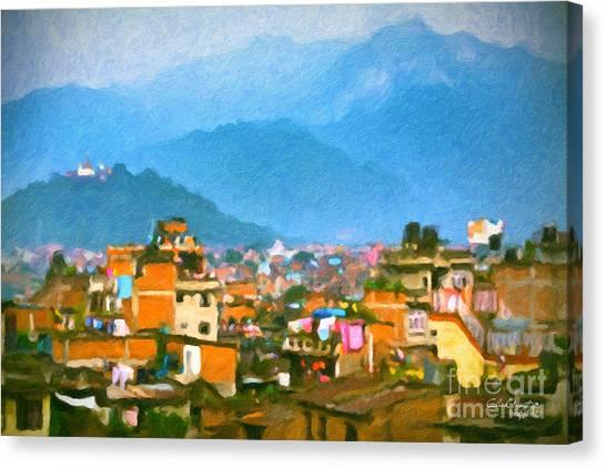 Kathmandu, Nepal Canvas Print