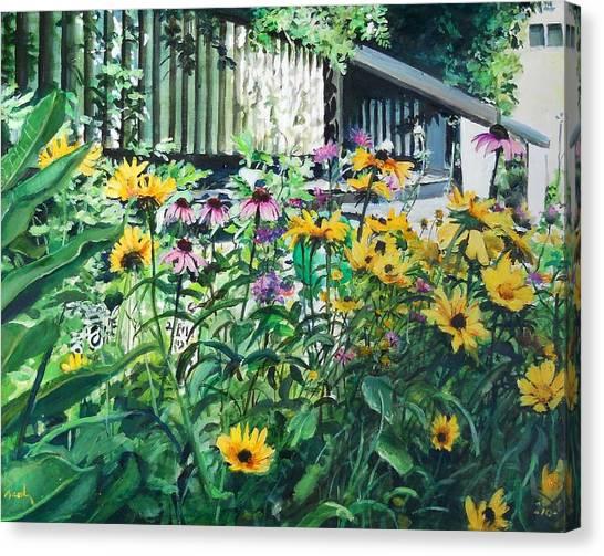 Kathys Garden Canvas Print