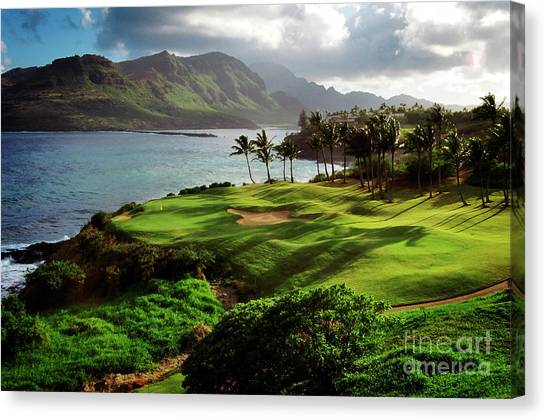 Canvas Print featuring the photograph Hokuala by Scott Kemper