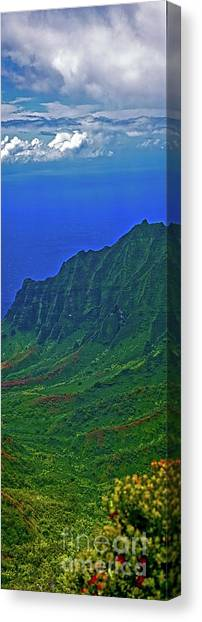 Kauai  Napali Coast State Wilderness Park Canvas Print