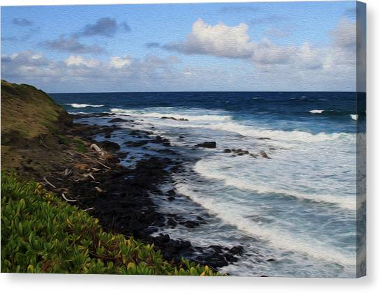 Kauai Shore 1 Canvas Print