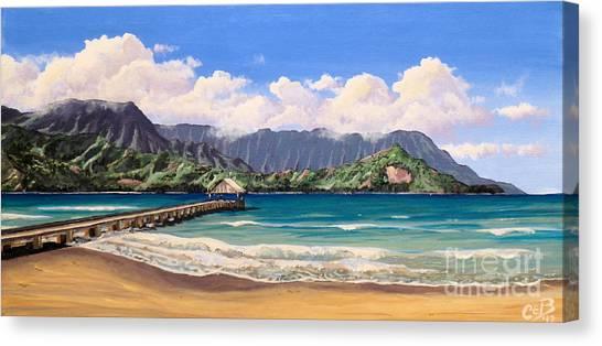 Kauai Surf Paradise Canvas Print