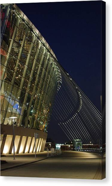 Kauffman Center For The Performing Arts Canvas Print