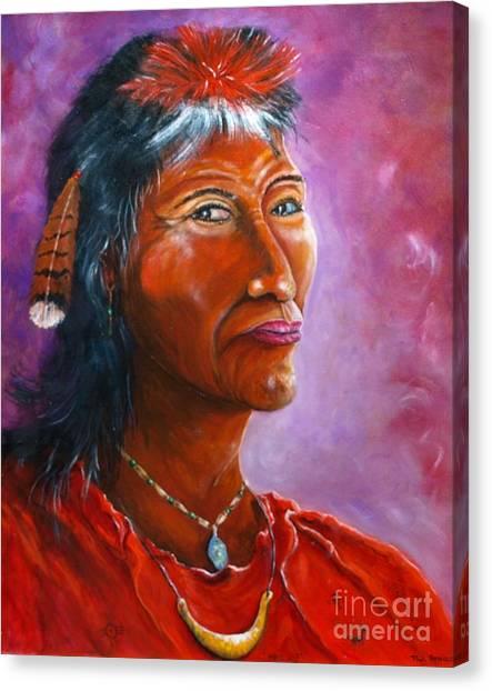 Kawacatoose Canvas Print