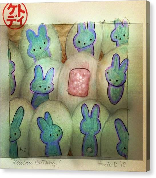 Canvas Print - Kawaii Hatchery by Kato D
