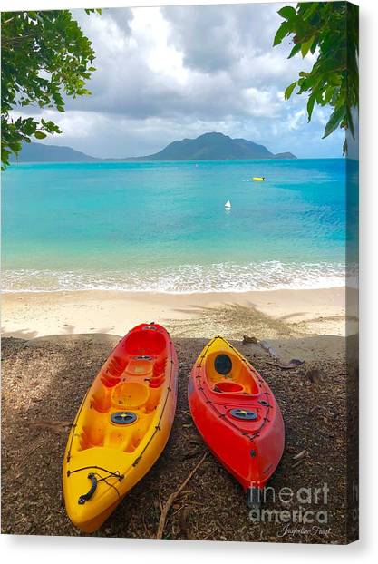 Kayak  Canvas Print