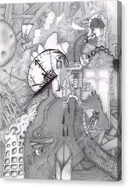 Kayla Dan Collaboration Canvas Print